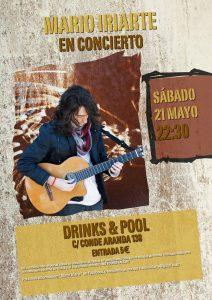 MARIO IRIARTE @ Drinks&Pool Aranda | Zaragoza | Aragón | España