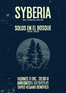 SYBERIA + SOLOS EN EL BOSQUE @ AVV ARREBTO | Zaragoza | Aragón | España