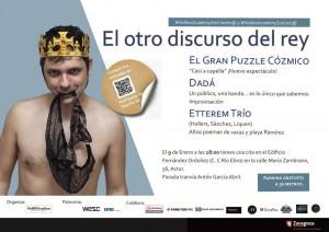 EL OTRO DISCURSO DEL REY @ Edificio Fernández Ordoñez | Zaragoza | Aragón | España