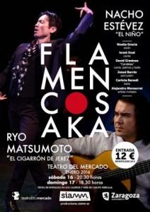 FLAMENCOSAKA @ TEATRO DEL MERCADO | Zaragoza | Aragón | España