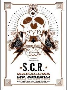 SCR + 51 GRADOS @ LA LEY SECA  | Zaragoza | Aragón | España
