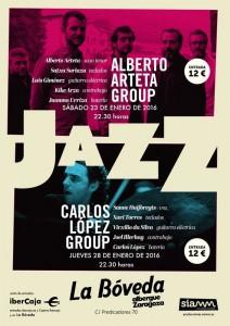 ALBERTO ARTETA GROUP @ LA BÓVEDA DE ALBERGUE | Zaragoza | Aragón | España