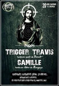CAMILLE + TRIGGER TRAVIS @ EL REFUGIO DEL CRAPULA | Zaragoza | Aragón | España