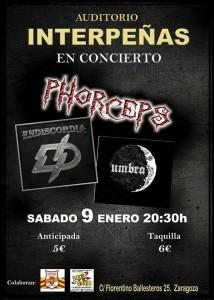 ENDISCORDIA + UMBRA + PHORCEPS @ AUDITORIO INTERPEÑAS | Zaragoza | Aragón | España