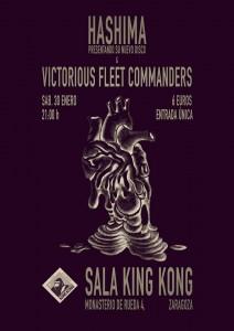 HASIMA + VICTORIUS FLEET COMMANDERS @ SALA KING KONG | Zaragoza | Aragón | España