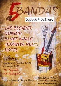 A 5 BANDAS @ LAS ARMAS | Zaragoza | Aragón | España