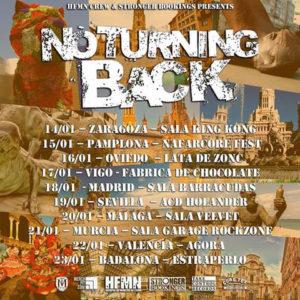 NO TURNING BACK + NUESTROCTUBRE @ SALA KING KONG | Zaragoza | Aragón | España