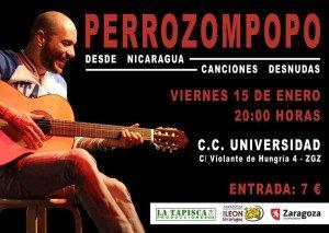 PERROZOMPOPO @ CENTRO CIVICO UNIVERSIDAD | Zaragoza | Aragón | España