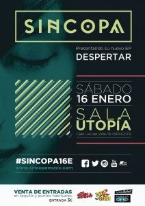 SINCOPA @ SALA UTOPIA | Zaragoza | Aragón | España