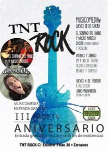 3º ANIVERSARIO TNT ROCK @ CAFE TNT ROCK | Zaragoza | Aragón | España