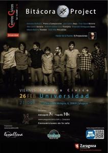 BITÁCORA PROJECT @ CENTRO CIVICO UNIVERSIDAD | Zaragoza | Aragón | España