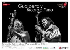 GUALBERTO Y RICARDO MIÑO @ CENTRO CÍVICO DELÍCIAS | Zaragoza | Aragón | España