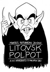 LITOVSK + POLPOT @ AVV ARREBATO  | Zaragoza | Aragón | España