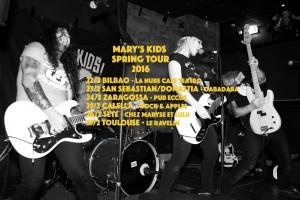 MARY´S KIDS + GARLICK! @ PUB ECCOS | Zaragoza | Aragón | España