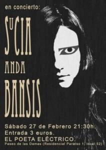 SUCIA ANDA BANSIS @ EL POETA ELECTRICO | Zaragoza | Aragón | España