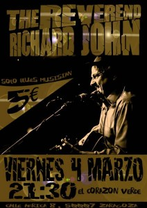 THE REVEREND RICHARD JOHN @ TERRAZA EL CORAZON VERDE