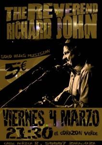 THE REVEREND RICHARD JOHN @ TERRAZA EL CORAZON VERDE