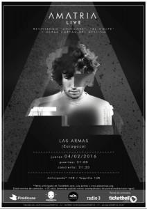 AMATRIA @ LAS ARMAS | Zaragoza | Aragón | España