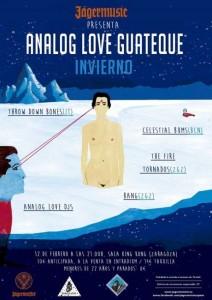 ANALOG LOVE GUATEQUE @ SALA KING KONG | Zaragoza | Aragón | España