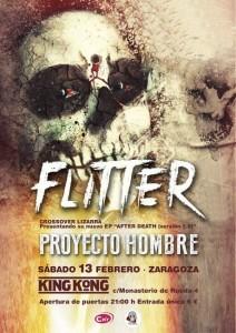 FLITTER + PROYECTO HOMBRE @ SALA KING KONG | Zaragoza | Aragón | España