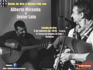 ALBERTO MIRANDA &JAVIER LAIO @ ESTUDIO DE ARTE AREA 2 | Zaragoza | Aragón | España