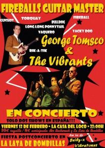 GEORGE TOMSCO & THE VIBRANTS @ LA CASA DEL LOCO | Zaragoza | Aragón | España