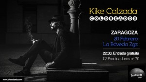 KIKE CALZADA @ LA BÓVEDA DEL ALBERGUE | Zaragoza | Aragón | España