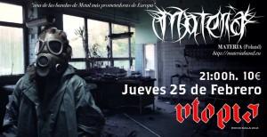 MATERIA @ SALA UTOPÍA  | Zaragoza | Aragón | España