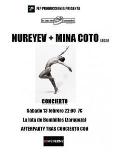 MINA COTO + NUREYEV + DJ MODERNO @ LA LATA DE BOMBILLAS | Zaragoza | Aragón | España