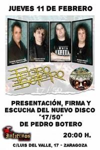 PEDRO BOTERO @ INFIERNOS ROCK SISTERS | Zaragoza | Aragón | España
