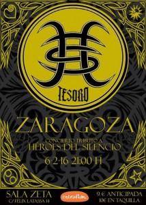 TESORO + GONZALO VALDIVIA @ SALA ZETA | Zaragoza | Aragón | España