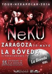 ÑEKÜ @ LA BOVEDA DEL ALBERGUE | Zaragoza | Aragón | España