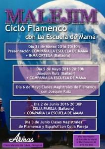 MALEJIM CICLO DE FLAMENCO @ LAS ARMAS | Zaragoza | Aragón | España