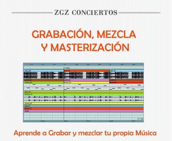 Grabación Mezcla y Masterización