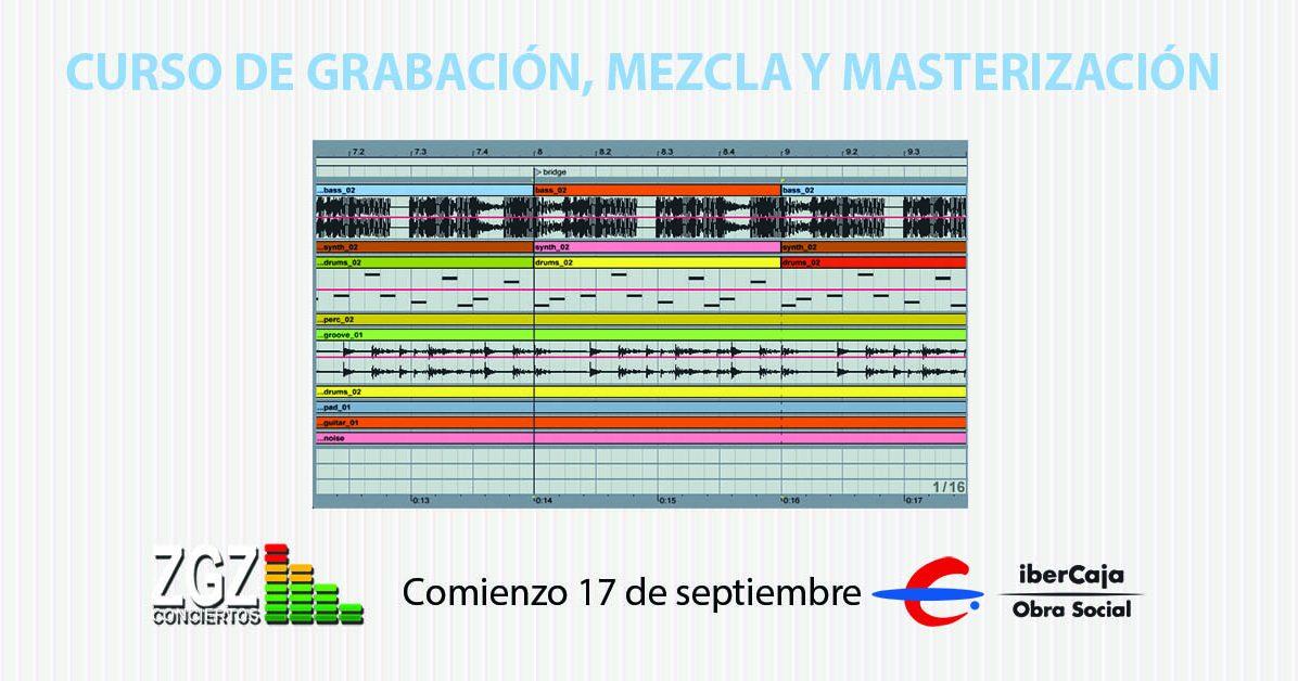 Curso de grabación mezcla y master
