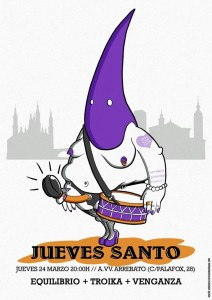 EQUILIBRIO + TROIKA + VENGANZA @ Avv ARRBATO | Zaragoza | Aragón | España