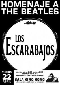 LOS ESCARABAJOS @ SALA KING KONG  | Zaragoza | Aragón | España
