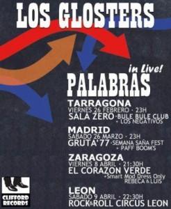LOS GLOSTERS @ TERRAZA EL CORAZON VERDE | Zaragoza | Aragón | España