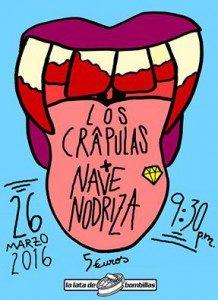 LOS CRAPULAS + NAVE NODRIZA @ LA LATA DE BOMBILLAS | Zaragoza | Aragón | España