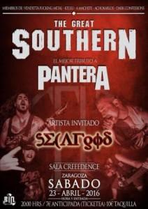 THE GREAT SOUTHERN + SECAFGOD @ SALA CREEDENCE | Zaragoza | Aragón | España