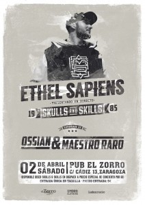 ETHEL SAPIENS @ PUB ZORRO | Zaragoza | Aragón | España