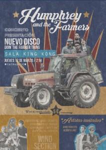 HUMPHREY & THE FARMERS @ SALA KING KONG | Zaragoza | Aragón | España
