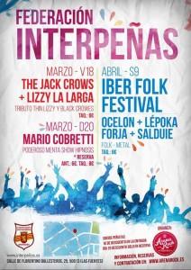 JACK CROWS BAND + LIZZY LA LARGA @ Federación Interpeñas de Zaragoza  | Zaragoza | Aragón | España