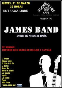 JAMES BAND @ ROCK & BLUES CAFE | Zaragoza | Aragón | España