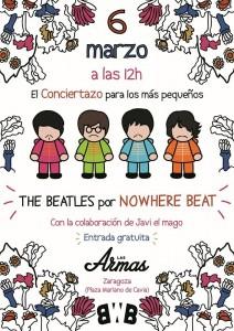 CONCIERTO PARA NIÑOS! The Beatles por Nowhere Beat @ LAS ARMAS | Zaragoza | Aragón | España