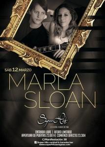 MARLA SLOAN @ SUPERHITS | Zaragoza | Aragón | España