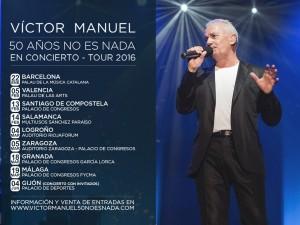 VICTOR MANUEL @ SALA MOZART | Zaragoza | Aragón | España