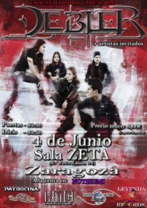 DEBLER @ SALA ZETA | Zaragoza | Aragón | España