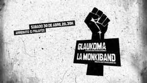 GLAUKOMA + LA MONKIBAND @ AVV ARREBATO | Zaragoza | Aragón | España