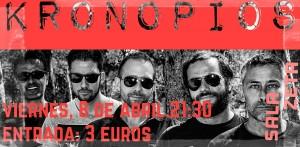 KRONOPIOS @ SALA ZETA | Zaragoza | Aragón | España